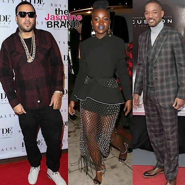 Celebrity Stalking: Lupita Nyong'o, French Montana, Will Smith, Leona Lewis, Gugu Mbatha-Raw, Janet Mock [Photos]