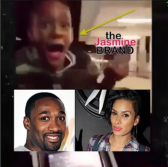 Laura Govan Calls Gilbert Arenas Reckless Parent, For Putting Son On Hood Of Moving Vehicle [VIDEO]