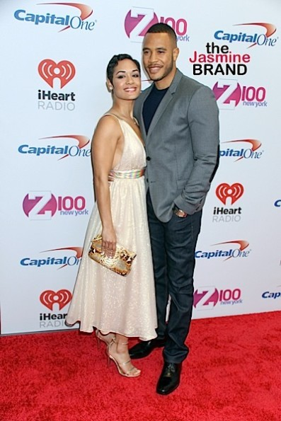 Grace Gaeley & fiance Trai Byers