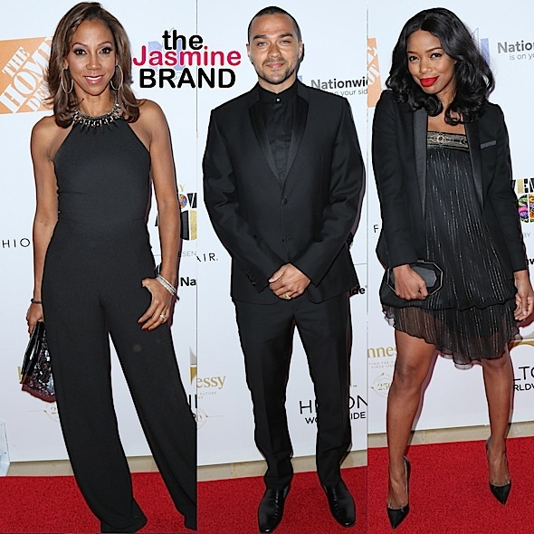 Holly Robinson Peete-Jesse Williams-Jill Marie Jones-the jasmine brand