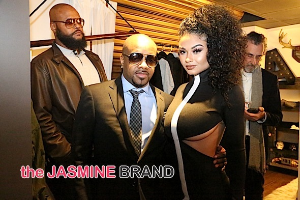 India Westbrooks Attends Jermaine Dupri Wardrobe Department LA Grand Opening-the jasmine brand