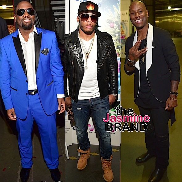 Johnny Gill, Nelly, Tyrese
