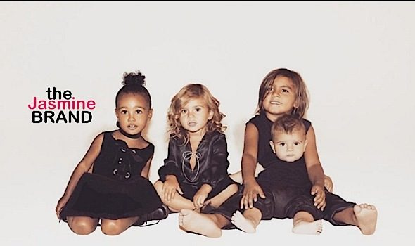Adorbs! Kris Jenner's Grandchildren Star in Infamous Christmas Card [Photo]