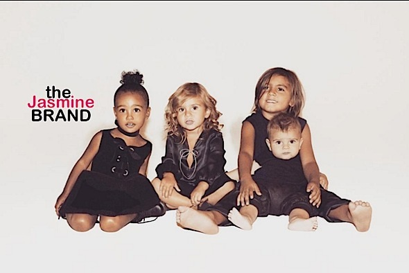 Adorbs! Kris Jenner's Grandchildren Star in Infamous Christmas Card [Photo]