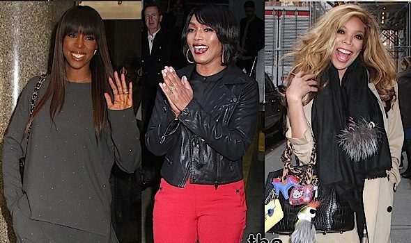 Kelly Rowland, Angela Bassett, Wendy Williams Spotted in NYC + Will Smith, French Montana, Mike Epps [Photos]