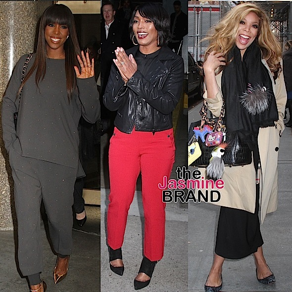 Kelly Rowland, Angela Bassett, Wendy Williams