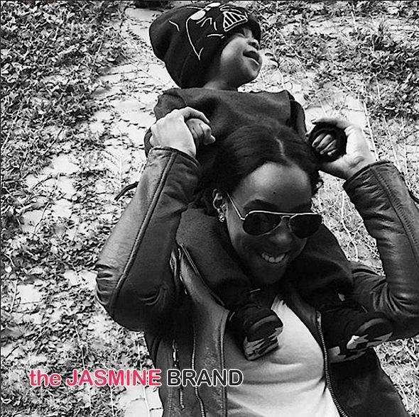 Kelly Rowland-Baby Titan Outside-the jasmine brand