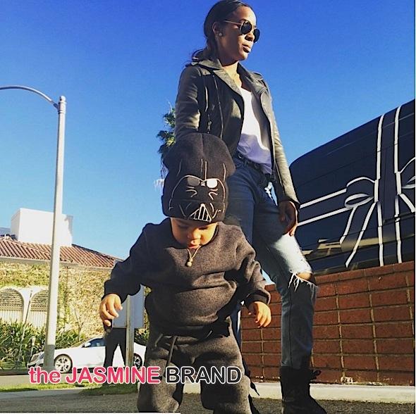 Kelly Rowland Son Baby Titan LA-the jasmine brand
