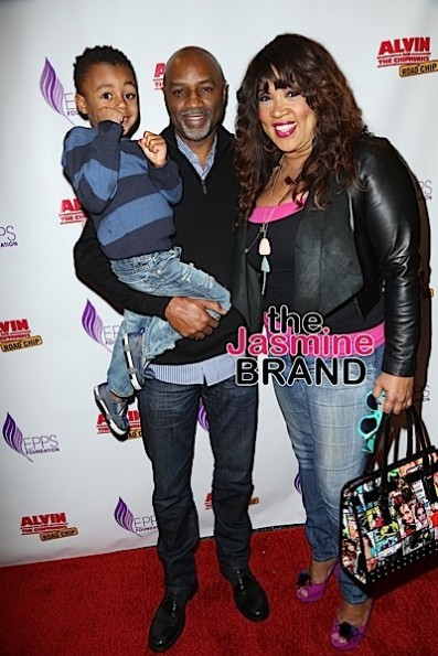 Kym's son, Rodney Van Johnson & Kym
