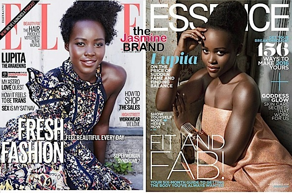 Cover Slayage! Lupita Nyong'o For 'Essence' & 'Elle UK' [Photos]