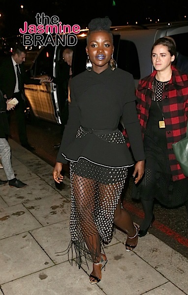Lupita Nyong'o At The Star Wars premiere AfterParty, London