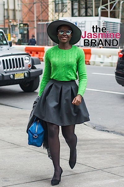 Lupita Nyong'o in New York