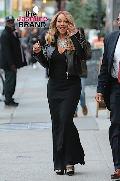 Mariah Carey seen in New York