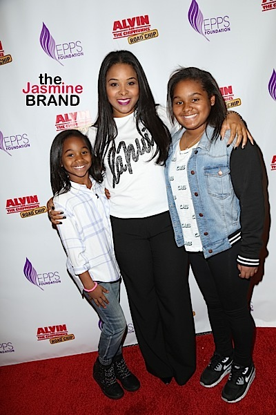 """20th Century Fox Hosts Celebrity Family Sunday Funday Toy Drive and """"Alvin and the Chipmunks: The Road Chip"""" Screening - Arrivals"""