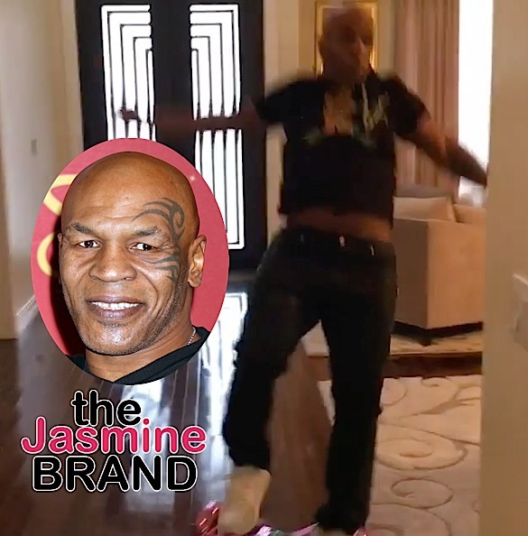 Mike Tyson Hoverboard Fall-the jasmine brand