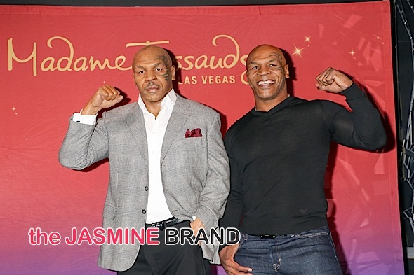 Mike Tyson Unveils His Wax Figure at Madame Tussauds Las Vegas