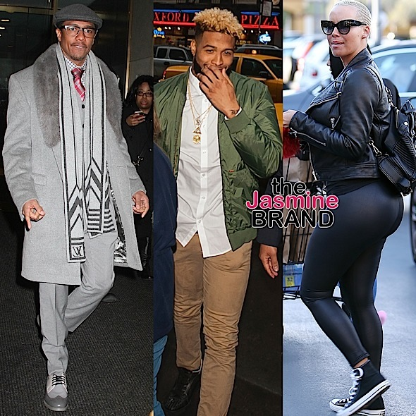 Celebrity Stalking: Amber Rose, Odell Beckham, Jr., Nick Cannon, John Legend, Chrissy Teigen, Wayne Brady, Tocarra Jones