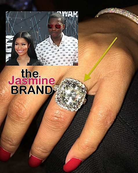 Meek Mill Gives Nicki Minaj A Massive Diamond + August Alsina Curses Out Label: F**k you!