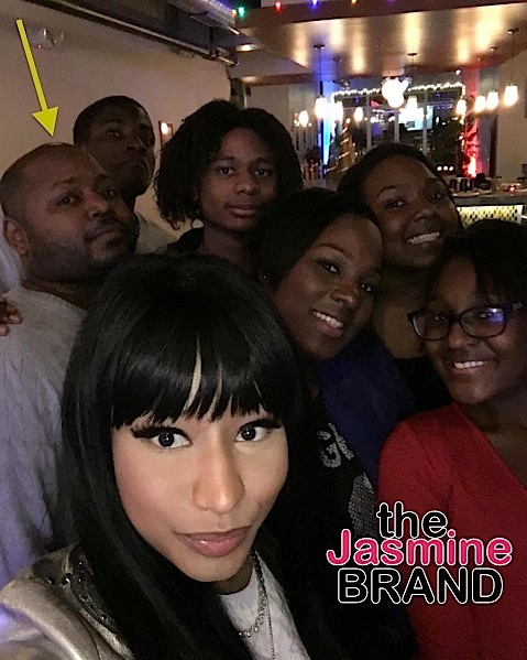 Nicki Minaj Shares 1st Photo With Brother, Since Rape Charge [Photo]