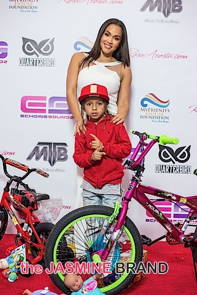 Rosa Acosta and Lil Rome Diddy