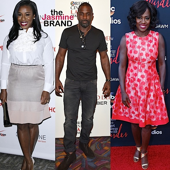 Idris Elba, Uzo Aduba, Viola Davis Nominated For SAG Awards + See Complete Nomination List!