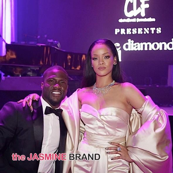 Kevin Hart, Rihanna