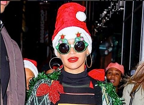 Beyonce Gets Festive For Holiday Party + Nas, Lauren London, Rickey Smiley & Roland Martin