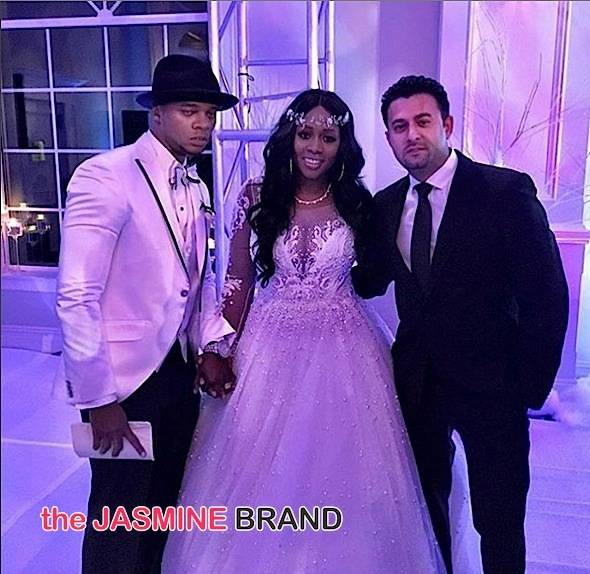 Remy Ma & Papoose Throw Secret Wedding Ceremony, Love & Hip Hop Cameras Rolling! [Photos]