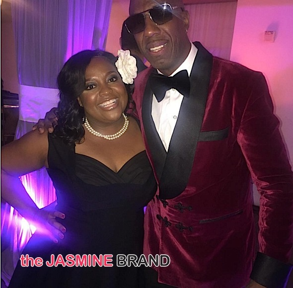 Comedian J.B. Smoove Celebrates 50th Bash With Larry David, Sherri Shepherd, Cendric the Entertainer, Duane Martin