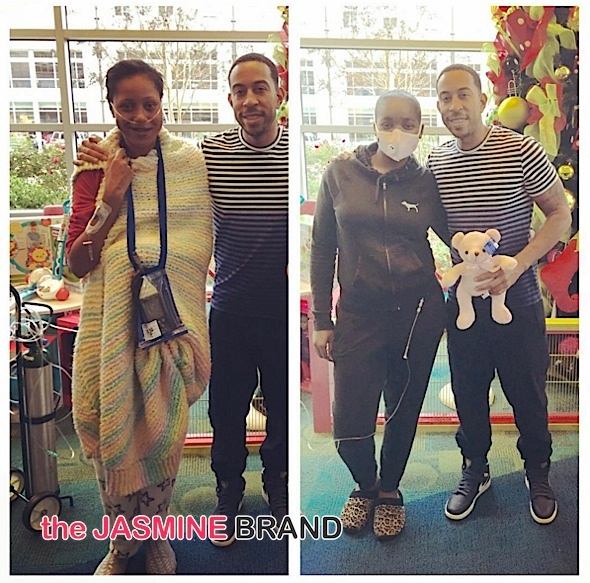 Ludacris Gives Back to Children's Hospital of Atlanta [Photos]