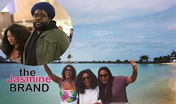 Oprah, Gayle King & Ava DuVernay Hit the Beach, Questlove & Wife Shop, Samuel L. Jackson Supports Tarantino + North West, Jagger Snow Ross [Photos]