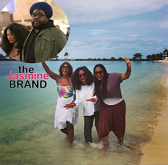 Oprah, Gayle King & Ava DuVernay Hit the Beach, Questlove & Wife Shop, Samuel L. Jackson Supports Tarantino + North West, Jagger Snow Ross [Photos]