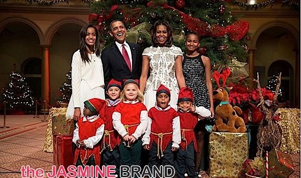Stars Celebrate Christmas! Obama's, Mariah Carey, Lil Wayne, Oprah, Steph Curry, Kevin Hart [Photos]