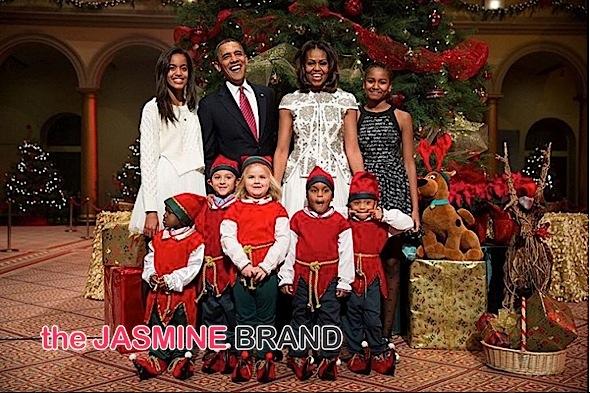 Stars Celebrate Christmas! Obama's, Mariah Carey, Lil Wayne, Oprah, Steph Curry, Kevin Hart [Photos]