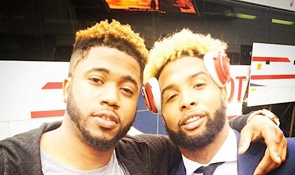 Odell Beckham Jr's Friend Defends Sexuality: We're not gay. [VIDEO]