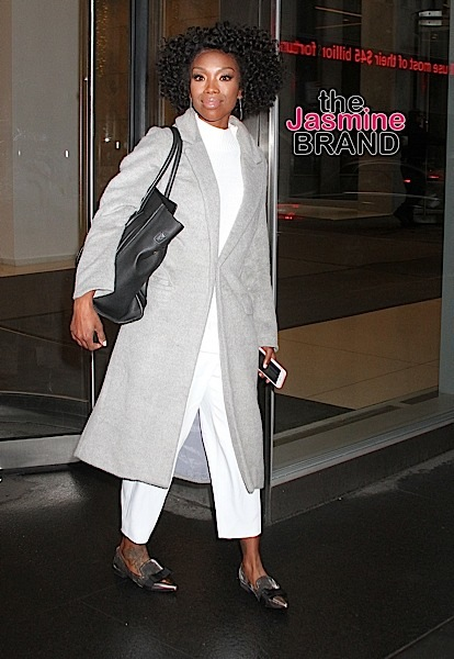 Singer and actress Brandy spotted leaving SiriusXM studios in NYC