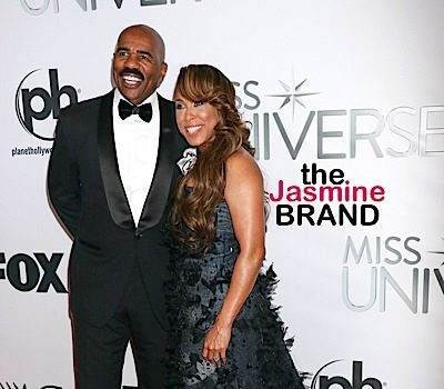 Steve Harvey & Wife Marjorie Shut Down Divorce Rumors [VIDEO]