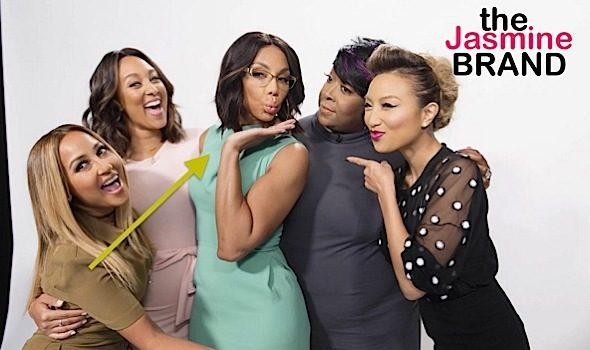 Tamar Braxton Denies 'The Real' Co-Host Are Feuding: No one is going anywhere!