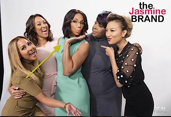 Tamar Braxton Denies Feud On The Real Talk Show-the jasmine brand