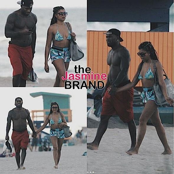 Taraji P Henson- Kelvin Hayden-Vacay-the jasmine brand