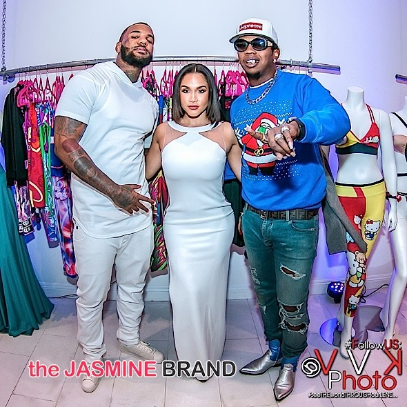 Rosa Acosta Hosts Toy Drive + The Game, Trinidad James Attend [Photos]