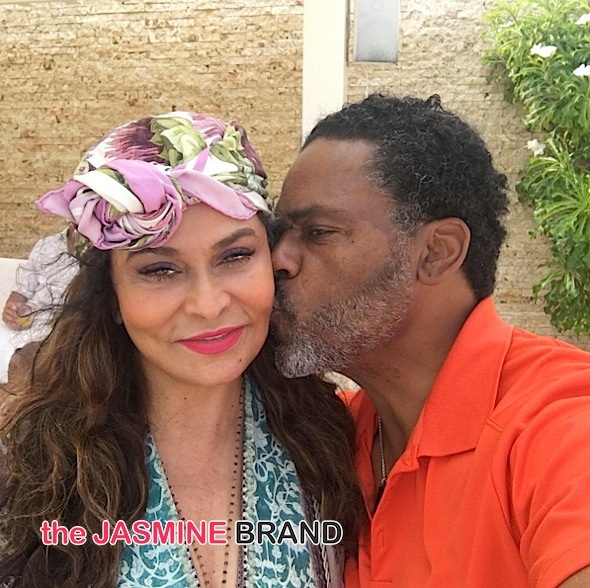 Tina Lawson-Kiss From Husband Richard Lawson-the jasmine brand