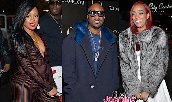 Monica, Trina & Rico Love Party at ATL's Goldroom [Photos]