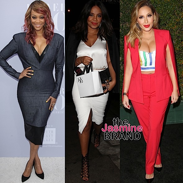 Celebrity Stalking: Tyra Banks, Sanaa Lathan, Adrienne Bailon, Anthony Anderson, Jeannie Mai