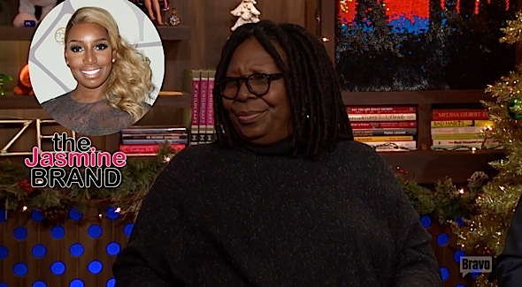 Whoopi Goldberg-On Shade NeNe Leakes The View-the jasmine brand