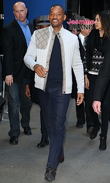 "Will Smith Visits ""Good Morning America"", NYC"