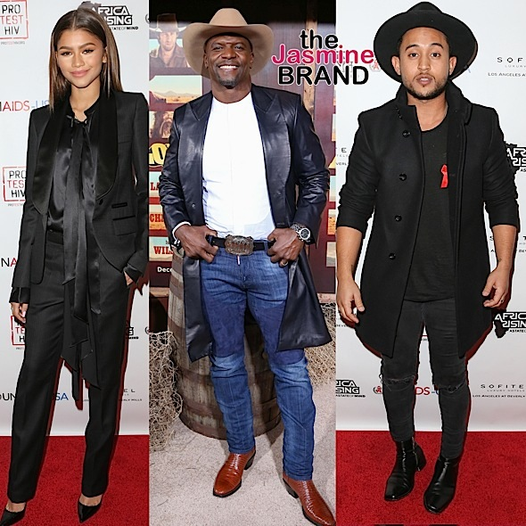 Zendaya, Terry Crews, Tahj Mowry