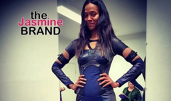 Holy Sh*t! Zoe Saldana Is Proud of Her Post Pregnancy Body [Photo]