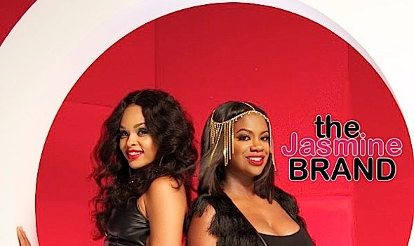 Demetria McKinney & Kandi Burruss Team Up Causing 'Unnecessary Trouble' [VIDEO]