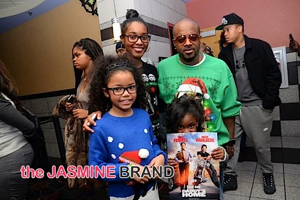 Jermaine Dupri Hosts 'Daddy's Home' Screening + Shay Johnson, RL, Wingo Attend